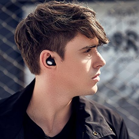 QCY-Bluetooth-Headset-Earbud-Q26One-Piece-Mini-Invisible-In-Ear-Single-Car-Bluetooth-Earpiece-with-Mic-for-Driving-and-Workout-Wireless-Earphone-Black-0-1
