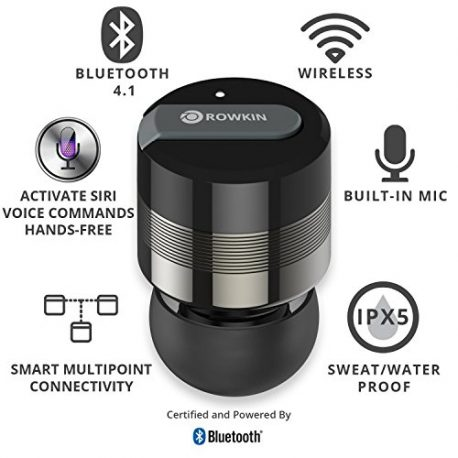 Rowkin-Bit-Charge-Stereo-Truly-Wireless-Headphones-wPortable-Charger-Bluetooth-Earbuds-Smallest-Cordless-Hands-free-Mini-Earphones-Headset-w-Mic-Noise-Reduction-for-Running-iPhone-Space-Gray-0-1