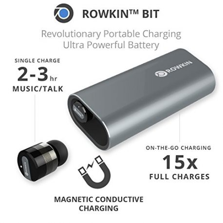 Rowkin-Bit-Charge-Stereo-Truly-Wireless-Headphones-wPortable-Charger-Bluetooth-Earbuds-Smallest-Cordless-Hands-free-Mini-Earphones-Headset-w-Mic-Noise-Reduction-for-Running-iPhone-Space-Gray-0-2