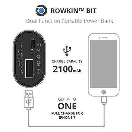 Rowkin-Bit-Charge-Stereo-Truly-Wireless-Headphones-wPortable-Charger-Bluetooth-Earbuds-Smallest-Cordless-Hands-free-Mini-Earphones-Headset-w-Mic-Noise-Reduction-for-Running-iPhone-Space-Gray-0-3