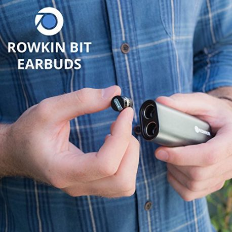 Rowkin-Bit-Charge-Stereo-Truly-Wireless-Headphones-wPortable-Charger-Bluetooth-Earbuds-Smallest-Cordless-Hands-free-Mini-Earphones-Headset-w-Mic-Noise-Reduction-for-Running-iPhone-Space-Gray-0-5