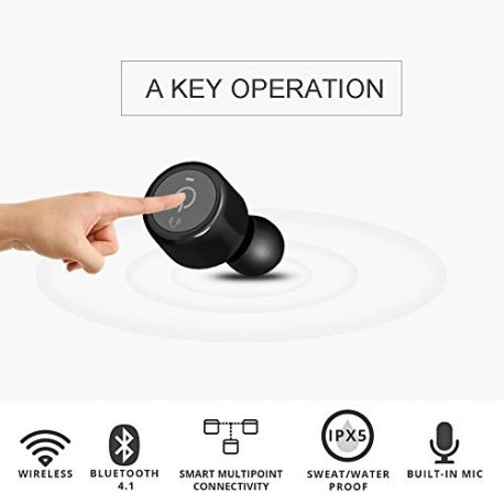Wireless-Bluetooth-Earphone-Bodecin-TWS-Twins-Wireless-Bluetooth-Mini-Invisible-Earbuds-V41-Stereo-Surround-Sound-In-Ear-Headset-with-Microphone-for-iPhone-Samsung-SmartphonesTablets-Black-0-1