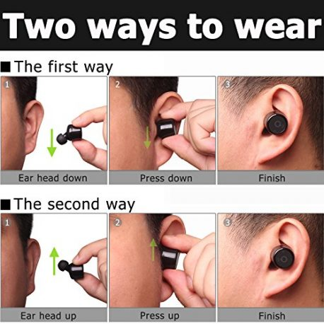 Wireless-Bluetooth-Earphone-Bodecin-TWS-Twins-Wireless-Bluetooth-Mini-Invisible-Earbuds-V41-Stereo-Surround-Sound-In-Ear-Headset-with-Microphone-for-iPhone-Samsung-SmartphonesTablets-Black-0-5