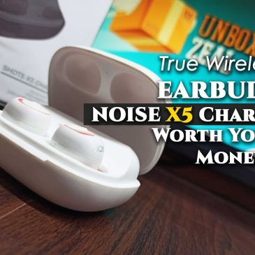 Noise Shots X5 Charge Truly Wireless Bluetooth Earbuds (Candy White) Unboxing Review | Gaming