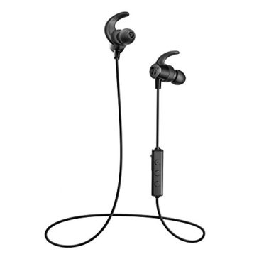 Bluetooth Headphones TaoTronics Wireless 5.0 in Ear Earbuds Sports Magnetic Earphones with Built in Mic (IPX6 Waterproof, aptX Stereo, 7 Hours Playtime, Extra Bass Earbuds)