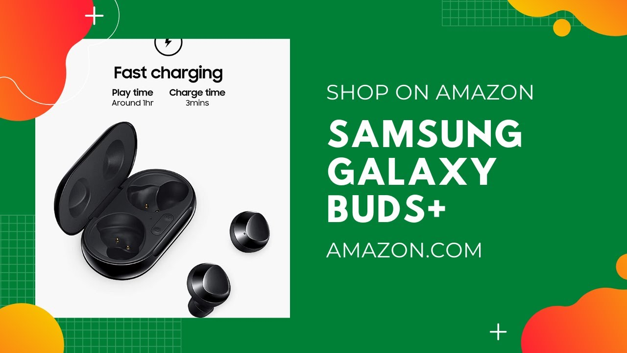 Samsung Galaxy Buds+ Plus, True Wireless Earbuds w/improved battery and call quality
